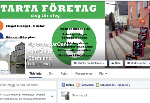 NFC Östra Sörmland på Facebook