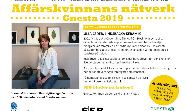 Ulla Ceder AN Gnesta 26 april