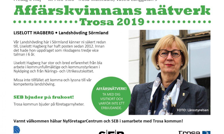 Affärskvinnans Nätverk Liselott Hagberg 3 maj 2019