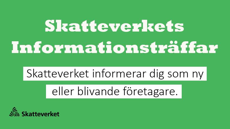 Skatteverket information