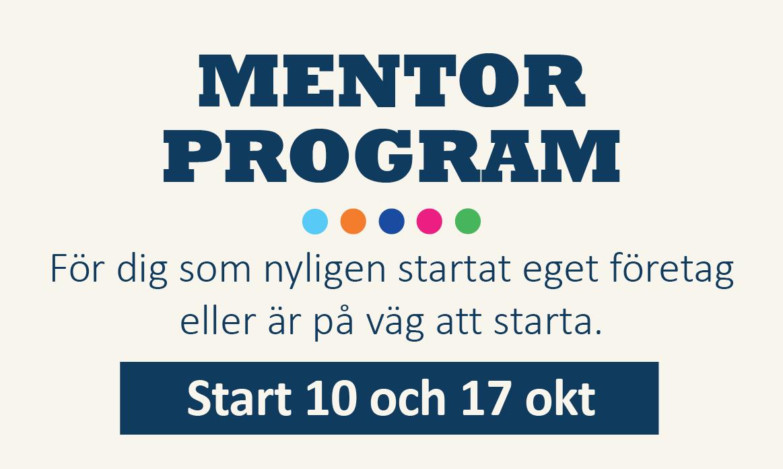 mentorprogram 10 okt 2019