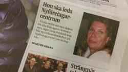 Strängnäs Tidning framsida 171212