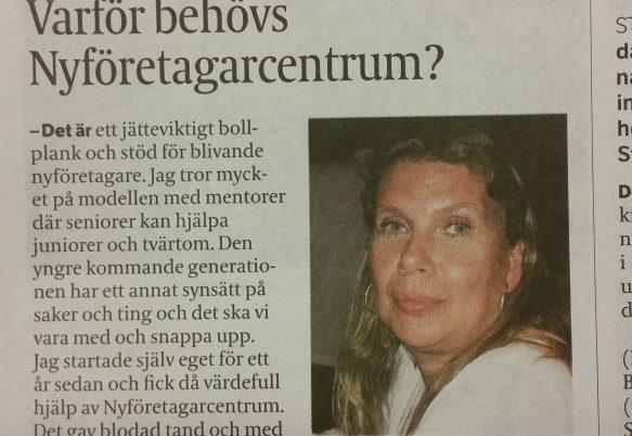 """Strängnäs Tidning """"Hallå där"""" 171212"""